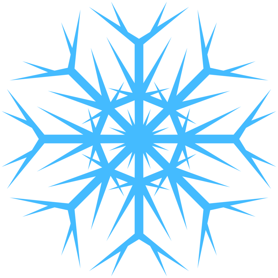 Snowflake profile pics clipart black and white Snowflakes PNG Images Transparent Free Download | PNGMart.com black and white