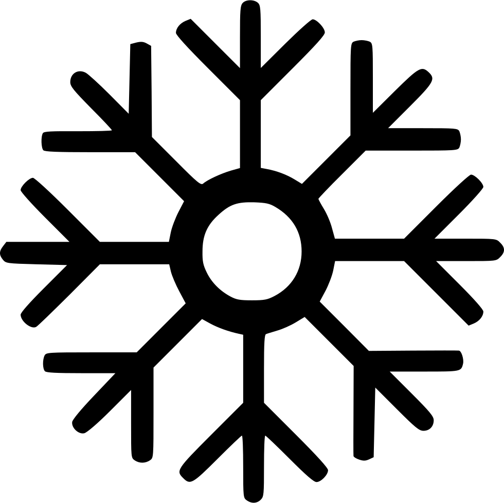 Snowflake serif clipart jpg library download Christmas Decoration Snow Snowflake Svg Png Icon Free Download ... jpg library download