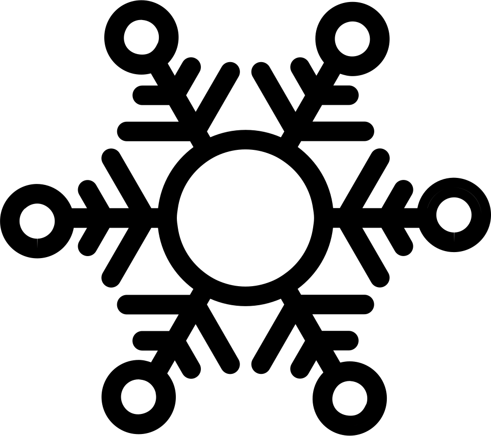 Snowflake serif clipart clipart library stock Snowflake Svg Png Icon Free Download (#30398) - OnlineWebFonts.COM clipart library stock