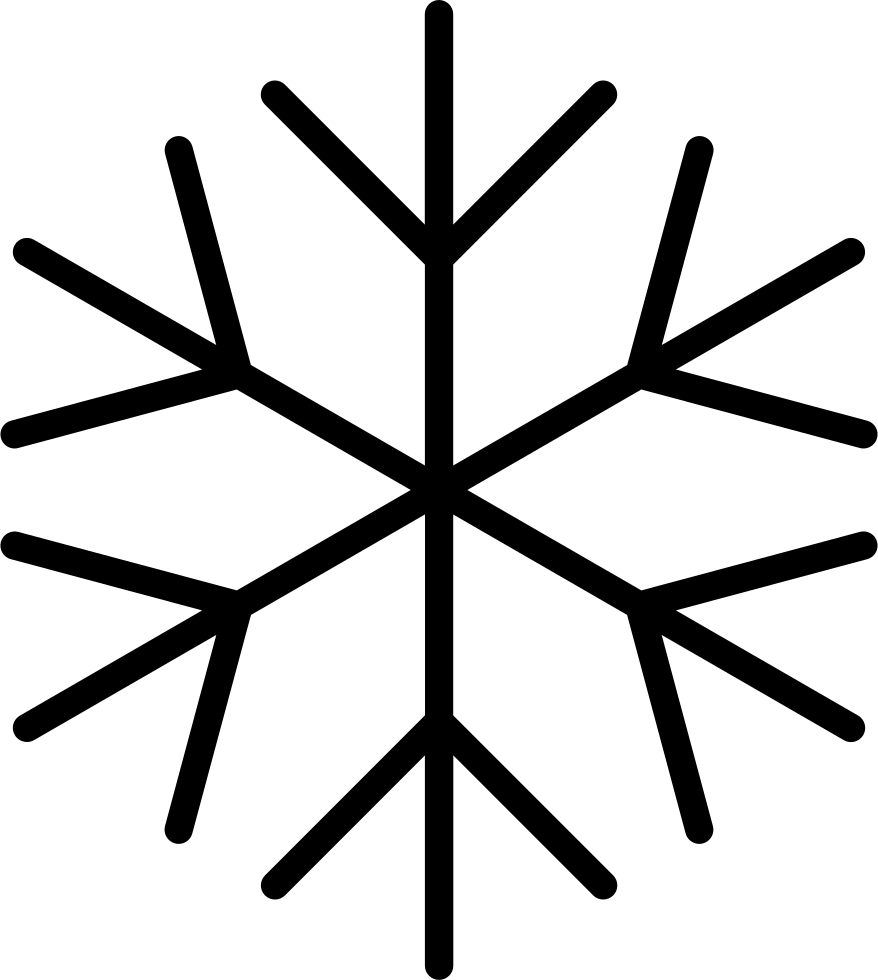Snowflake serif clipart picture royalty free stock Snowflake Svg Png Icon Free Download (#29473) - OnlineWebFonts.COM picture royalty free stock
