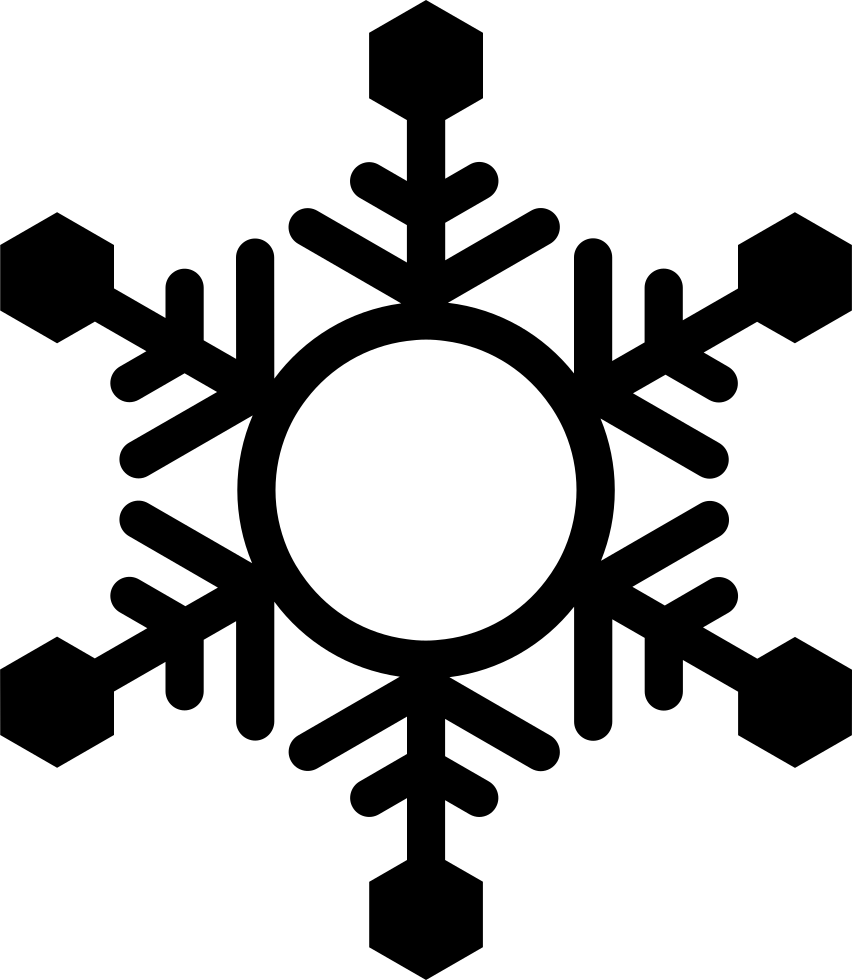 Snowflake serif clipart picture royalty free download Snowflake Svg Png Icon Free Download (#39327) - OnlineWebFonts.COM picture royalty free download