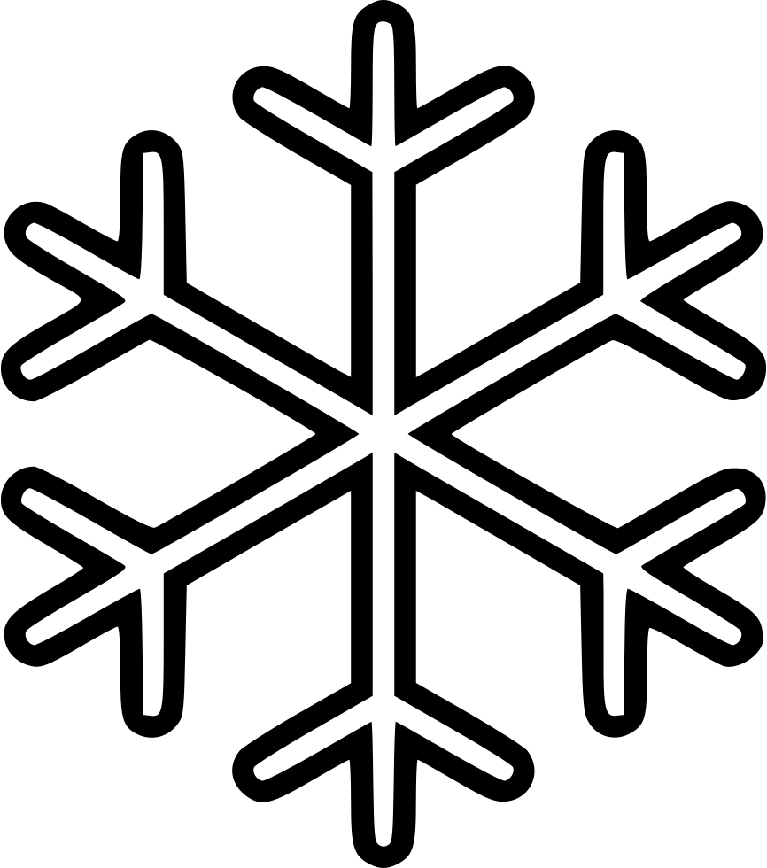 Snowflake serif clipart image stock Snowflake Svg Png Icon Free Download (#499164) - OnlineWebFonts.COM image stock