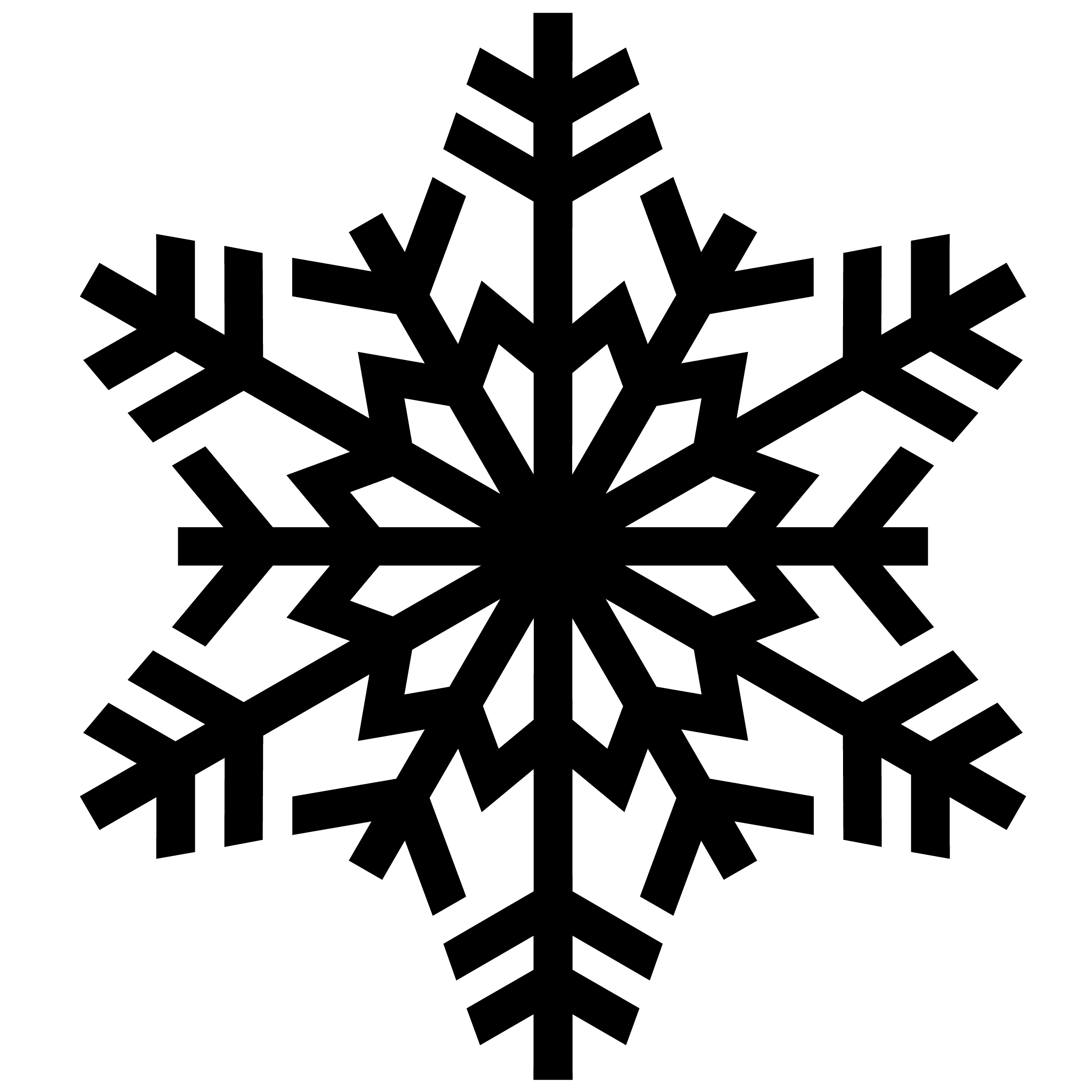 Snowflake silouette clipart graphic stock snowflake - Google Search | Holiday Decorations | Snowflake ... graphic stock