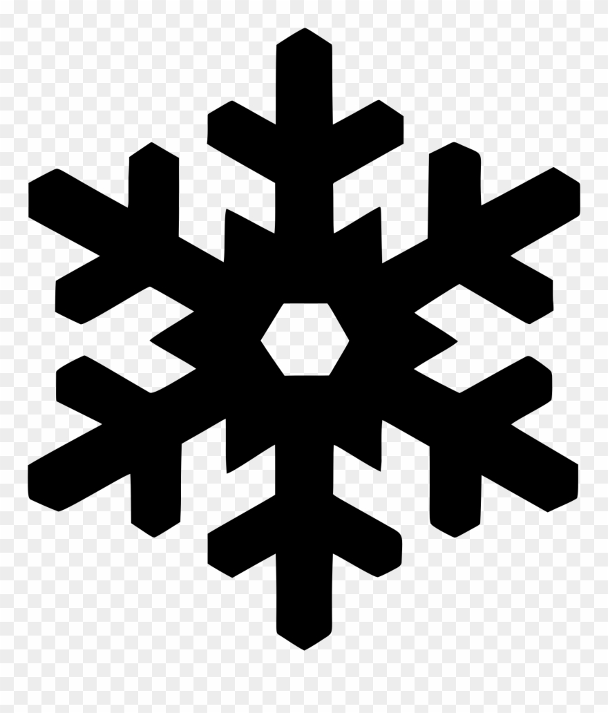 Snowflake silouette clipart vector freeuse stock Snowflake Silhouette Computer Icons Drawing - Copo De Nieve ... vector freeuse stock