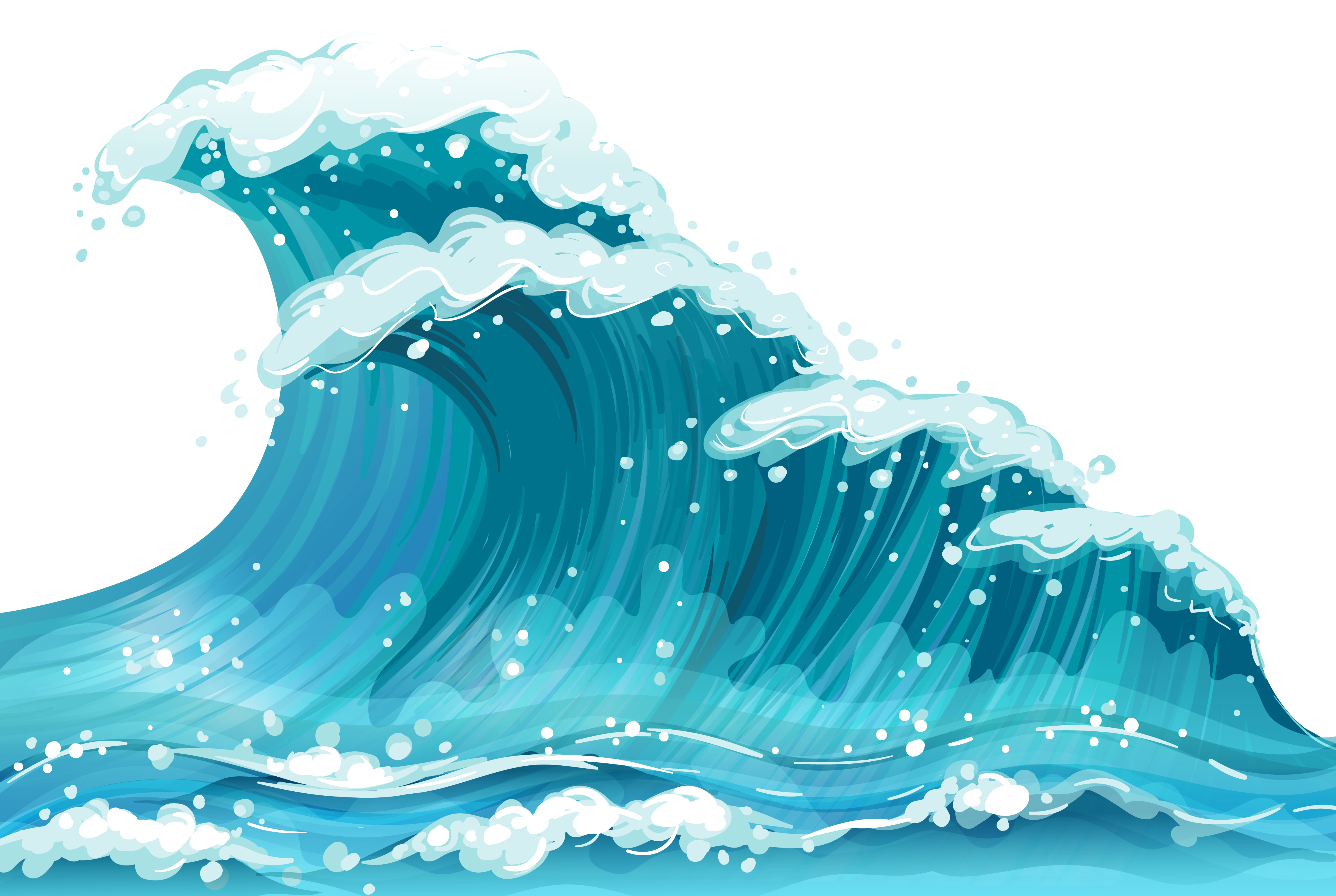 Snowflake wave clipart image stock Sea Wave Ground PNG Clipart | Gallery Yopriceville - High-Quality ... image stock