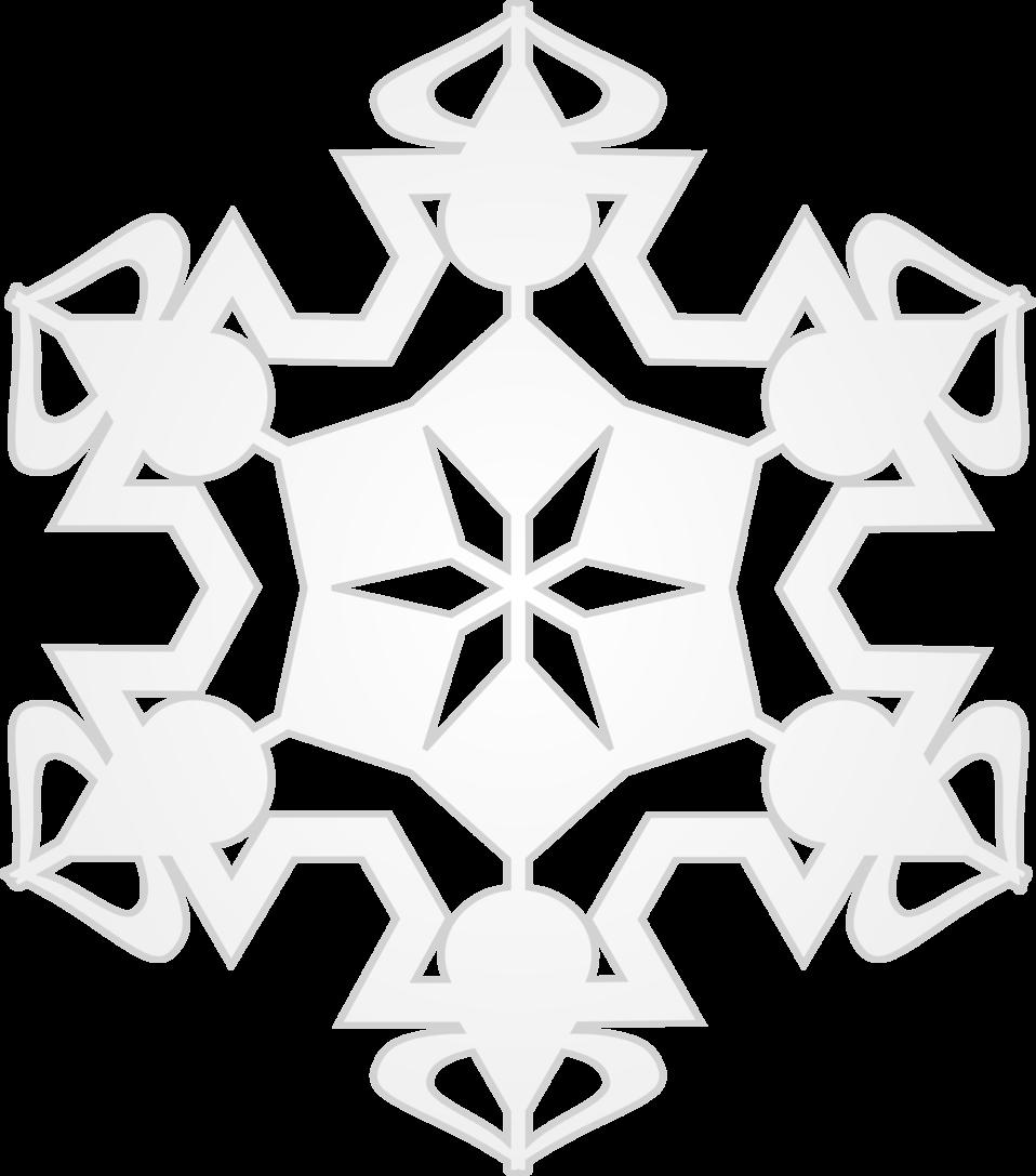 Snowflake white clipart transparent stock Public Domain Clip Art Image | Snowflake 6 | ID: 13920625811851 ... transparent stock