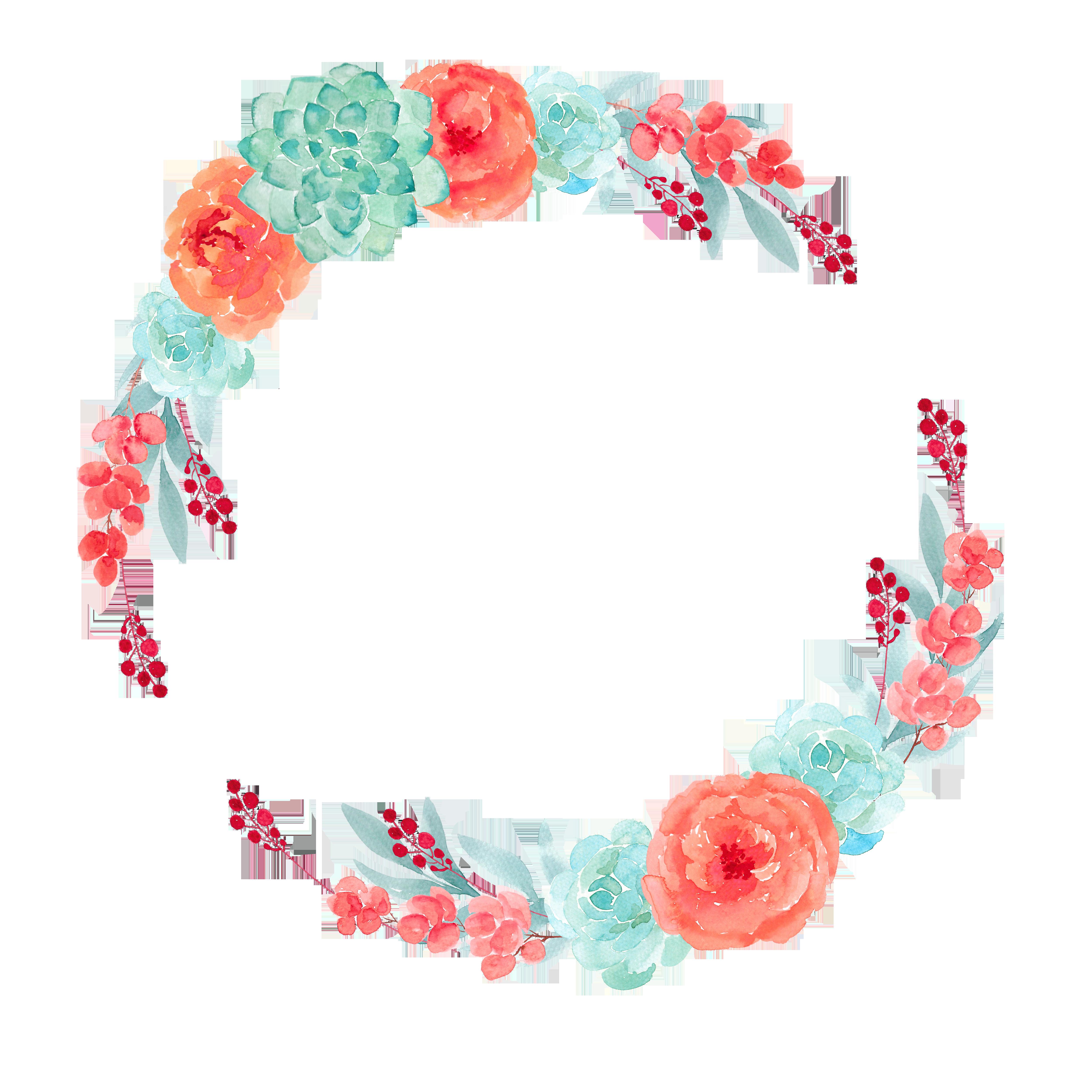 Watercolor snowflake wreath clipart jpg library download http://img.lenagold.ru/p/pion/pion184.png | plantillas y fondos ... jpg library download