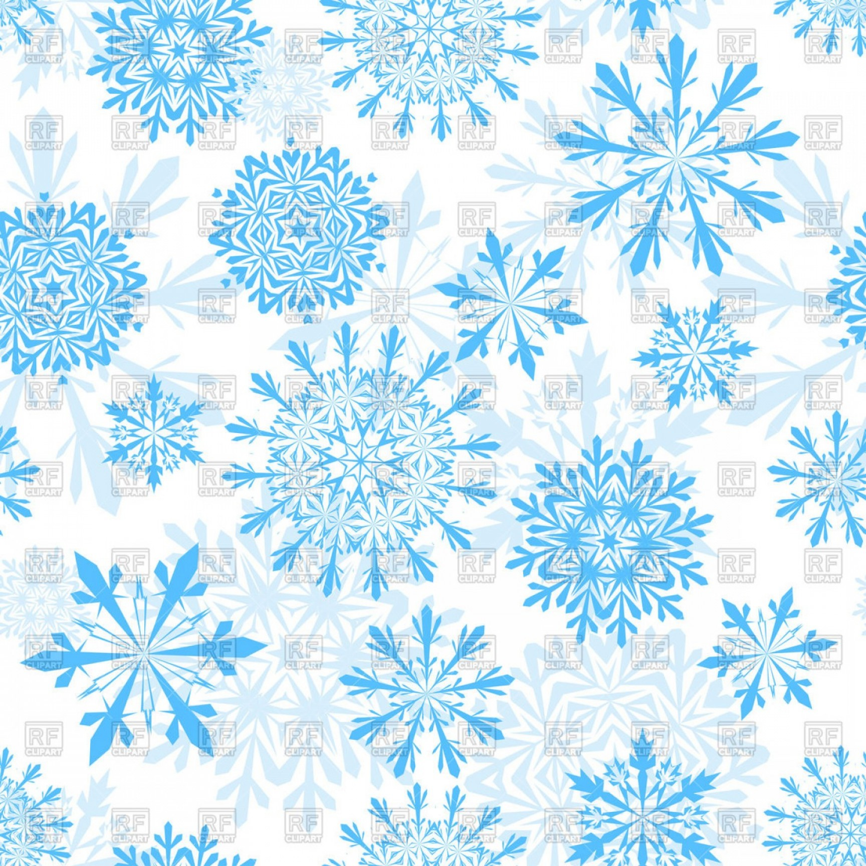 Snowflakes background clipart free clip art freeuse Free Snowflake Background Clipart Seamless Winter Background ... clip art freeuse