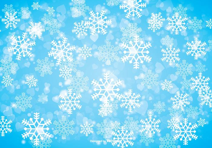 Snowflakes background clipart free clipart royalty free download Winter Snowflake Background - Download Free Vectors, Clipart ... clipart royalty free download