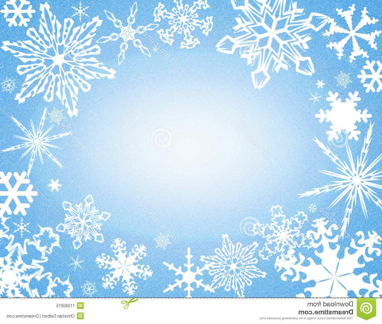 Best HD Blue Snowflake Border Clip Art File Free » Free ... clip art transparent