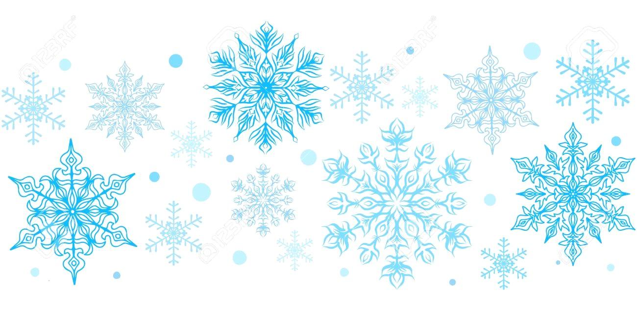 Snowflakes clipart borders svg transparent Snowflakes clipart borders 1 » Clipart Station svg transparent