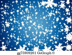 Snowflurries clipart clipart royalty free download Snow Flurry Clip Art - Royalty Free - GoGraph clipart royalty free download