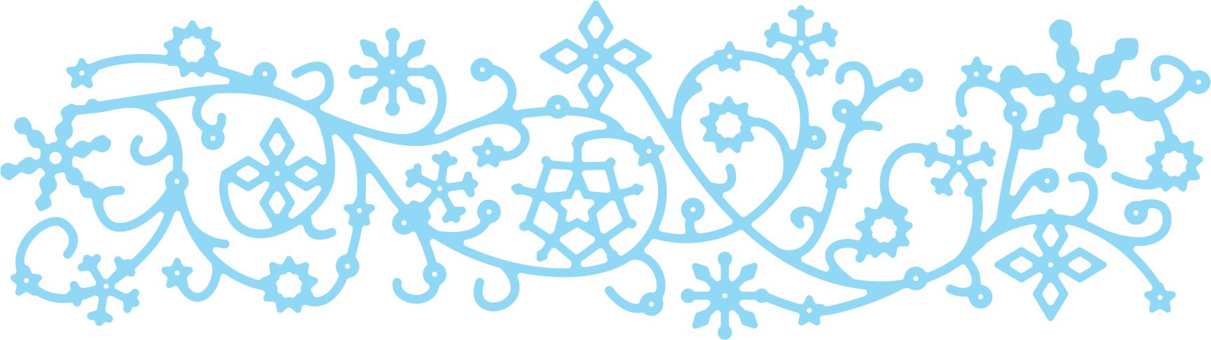 Snowflurries clipart graphic library Die, Dancing Snow Flurries - Scrapbook City, BC Canada ... graphic library