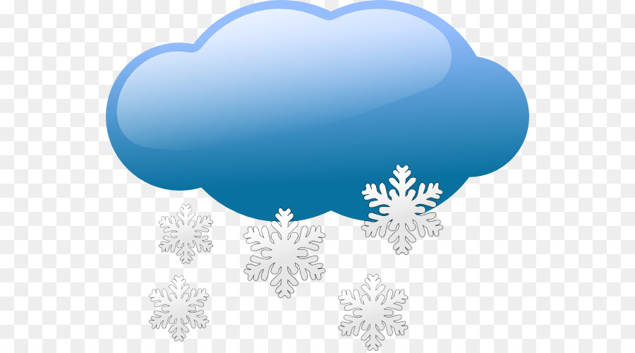Snowflurries clipart clip library stock Rain Cloud Clipart png download - 600*497 - Free Transparent ... clip library stock