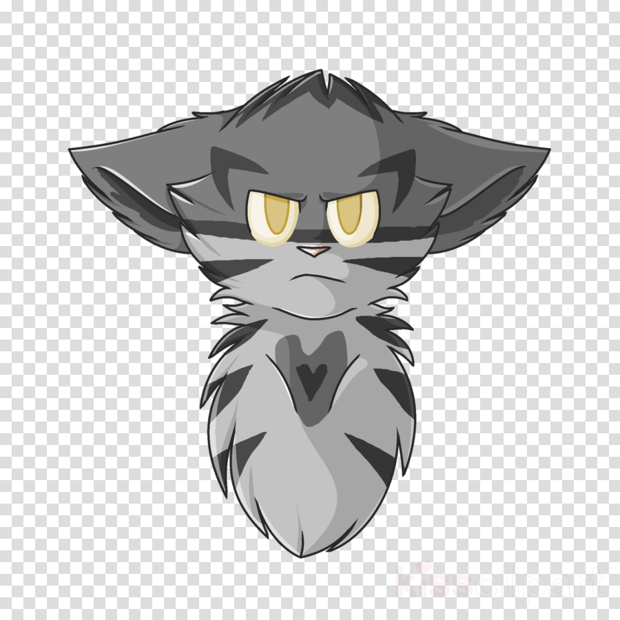 Snowfur clipart clipart transparent download Cat, Thistleclaw, Warriors, transparent png image & clipart ... clipart transparent download