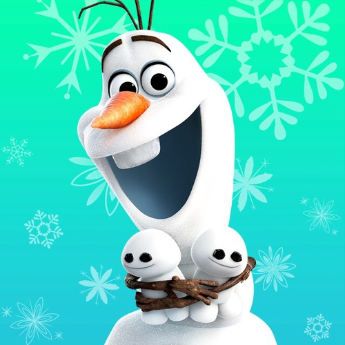 Olaf and snowgies discovered by Lauren on We Heart It graphic stock