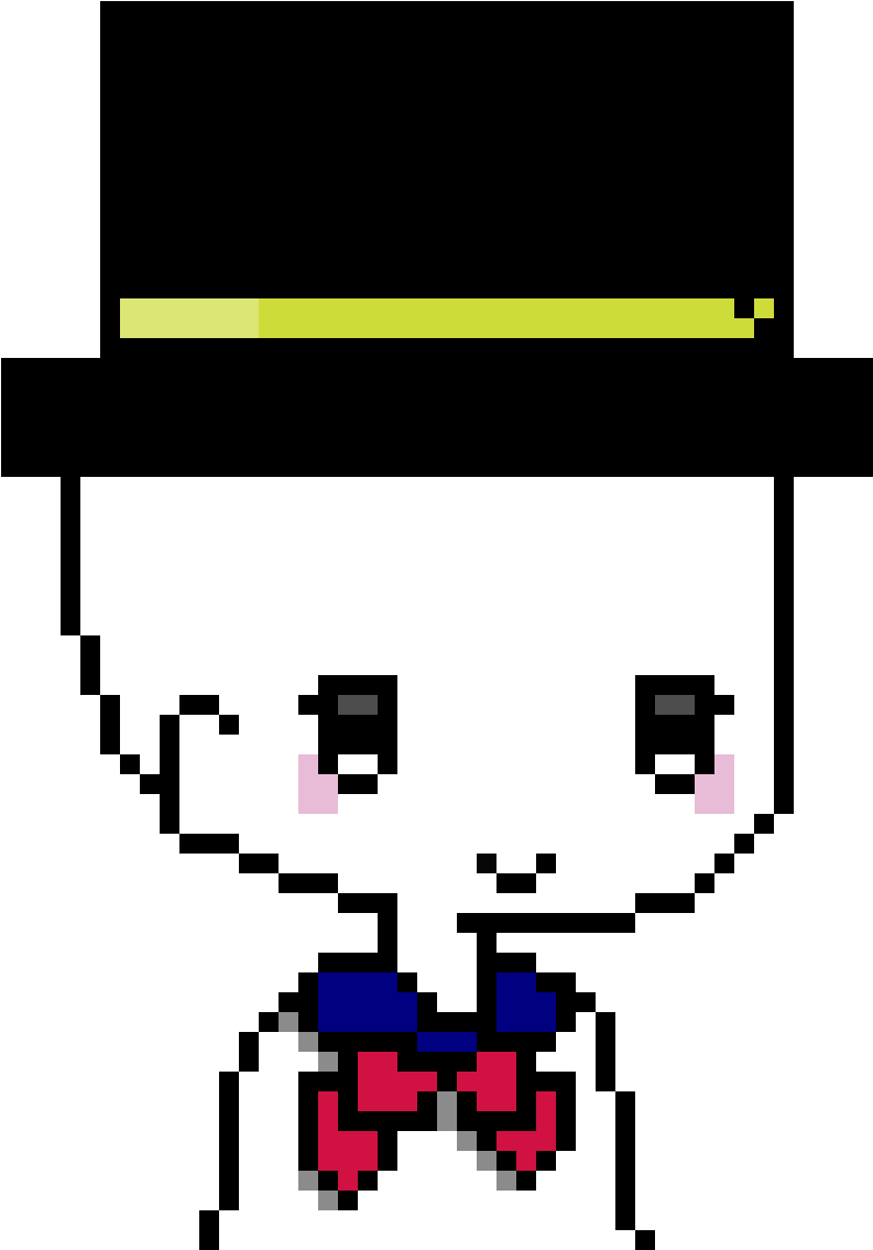 Snowgirl clipart image download Anime Snowgirl - Minecraft Derp Pixel Art Clipart - Full ... image download