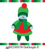 Snowgirl clipart picture royalty free download Snowgirl Clip Art - Royalty Free - GoGraph picture royalty free download