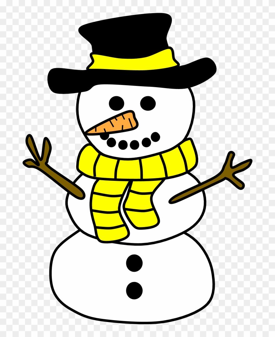 Snowma clipart clipart transparent Snowmen - Snowman Clipart (#1151628) - PinClipart clipart transparent