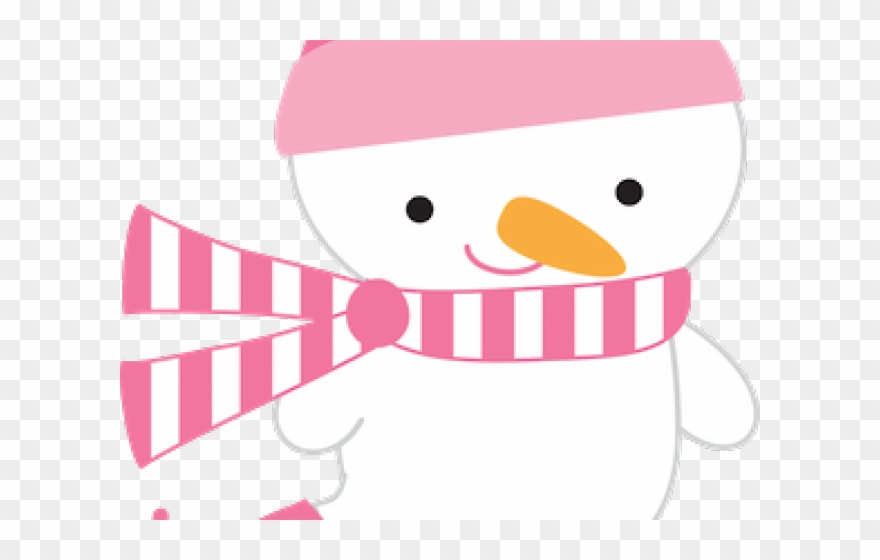 Pink snowman clipart clipart freeuse Snowman Clipart Penguin - Clipart Pink Christmas On ... clipart freeuse