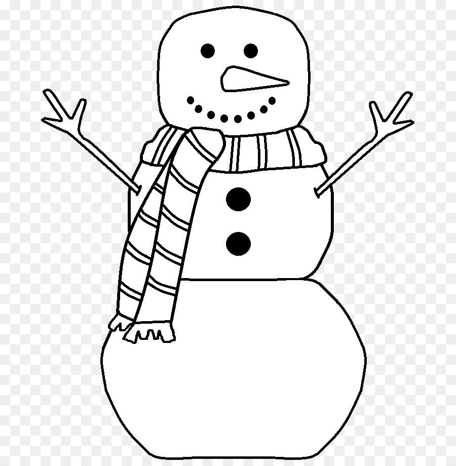 Snowman black and white clipart clipart transparent Black Line Background png download - 771*915 - Free ... clipart transparent