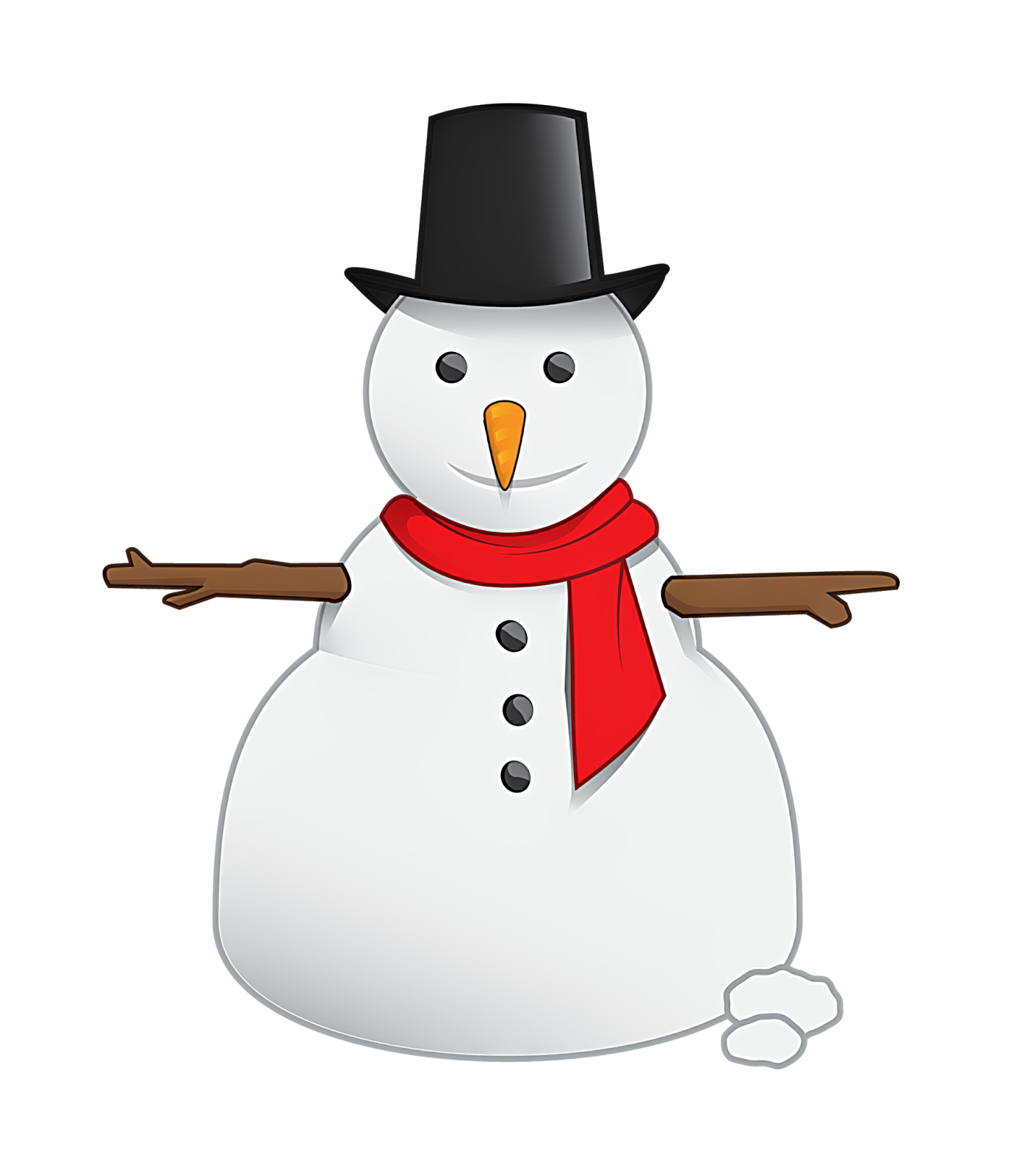 Snowman clipart with crown graphic library download Snowman Png Vector #30780 - Free Icons and PNG Backgrounds graphic library download
