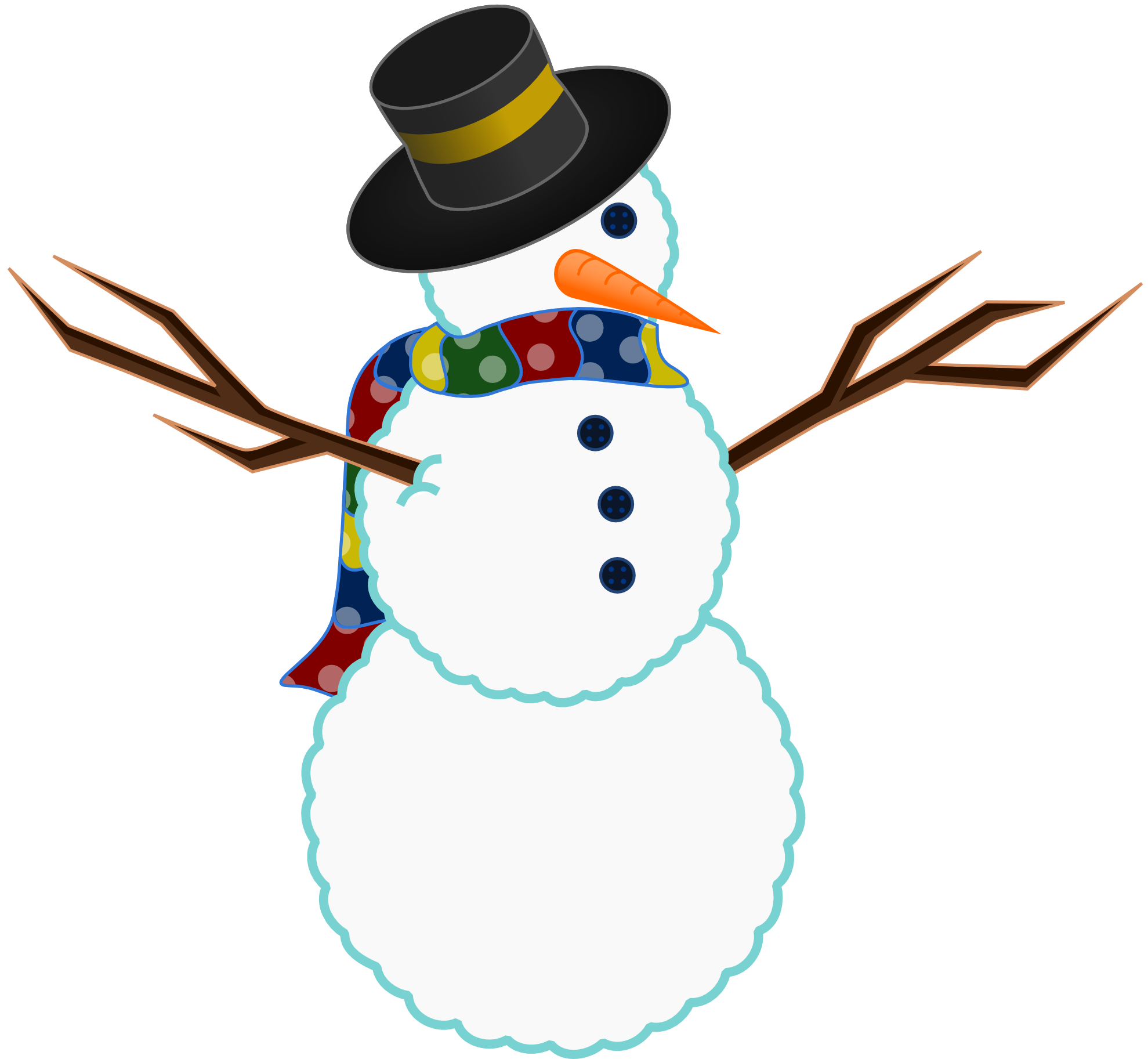Snowman book clipart clipart transparent library clipartist.net » Clip Art » a scarfed snowman christmas xmas peace ... clipart transparent library