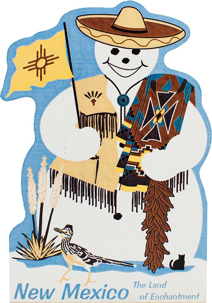 Snowman cat clipart png royalty free stock New Mexico State Snowman | The Cat's Meow Village png royalty free stock