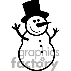 Snowman clipart black and white free clip library Free Snowman Clipart Black And White | Free download best ... clip library