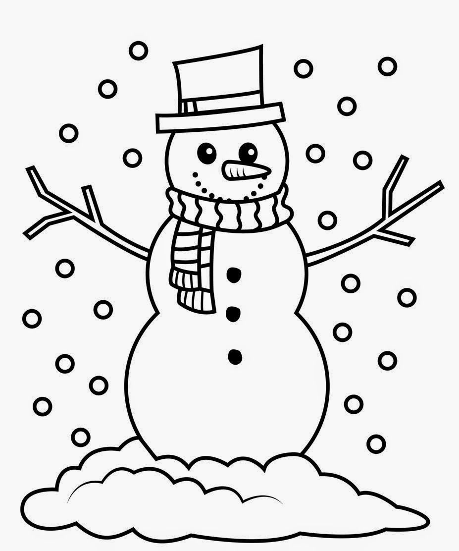 Snowman clipart black and white to color picture black and white stock Snowman black and white navishta sketch snowman christmas ... picture black and white stock