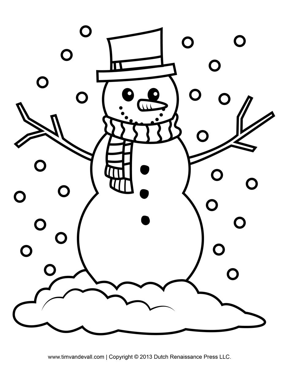 Snowman clipart black and white to color svg library Snowman Pictures To Color | to color they may enjoy this ... svg library