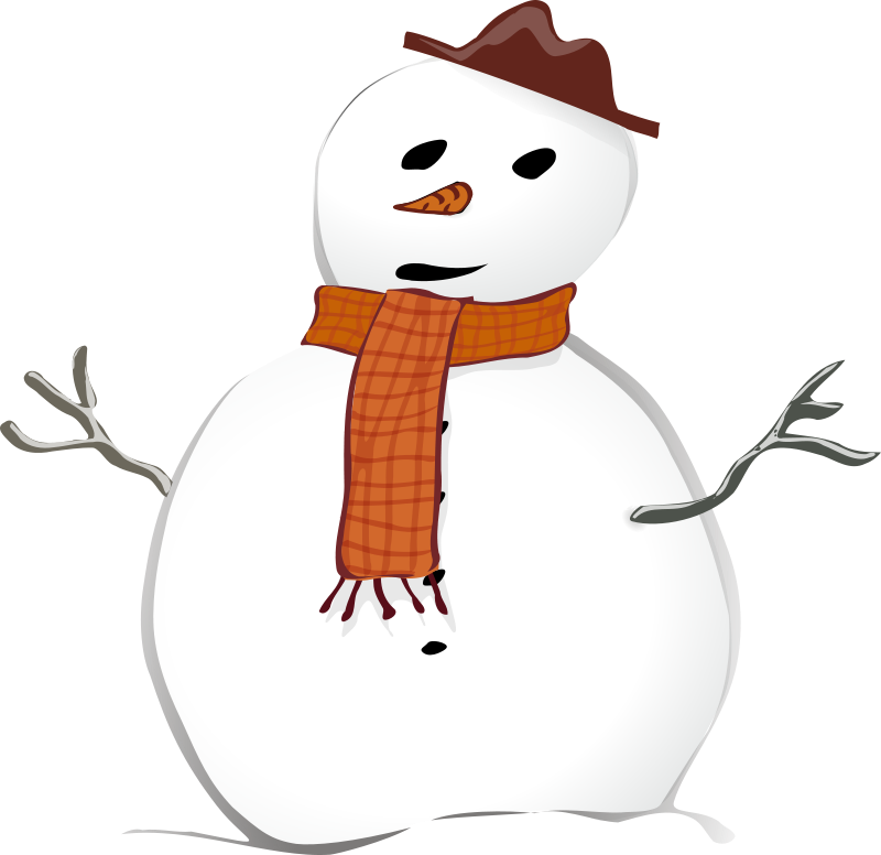 Snowman clipart in sun banner library library Snowman Background Clipart. X Boy And Snowman In The Snow Clip Art ... banner library library