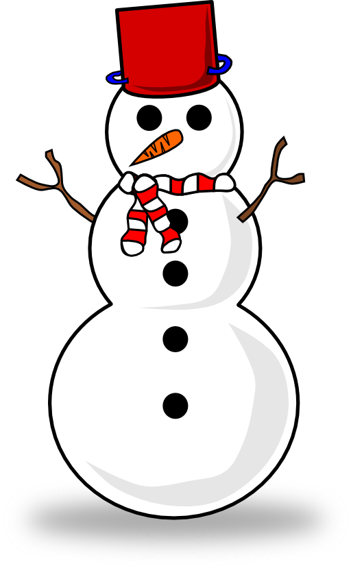 Snowman clipart in sun graphic royalty free Snowman Clipart | i2Clipart - Royalty Free Public Domain Clipart graphic royalty free
