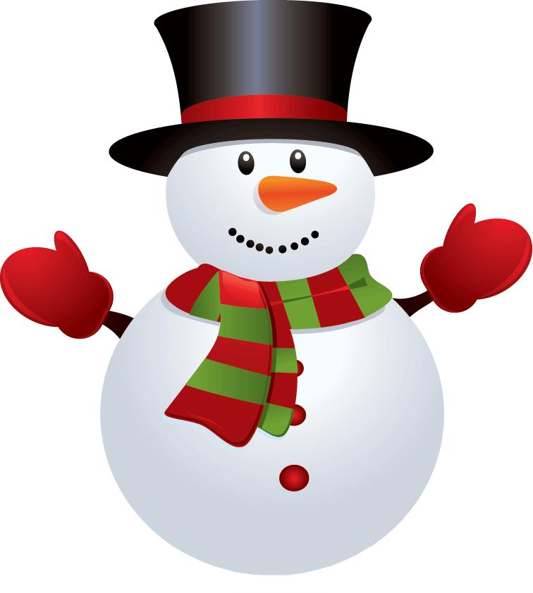 CHRISTMAS SNOWMAN CLIP ART | CLIP ART - SNOWMAN - CLIPART ... clipart transparent library