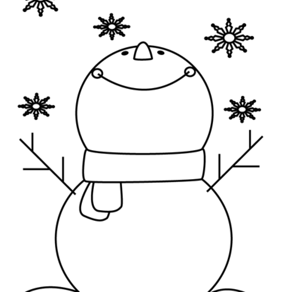 Snowman clipart snowflake picture black and white download Snowman Clipart Black And White birthday clipart hatenylo.com picture black and white download