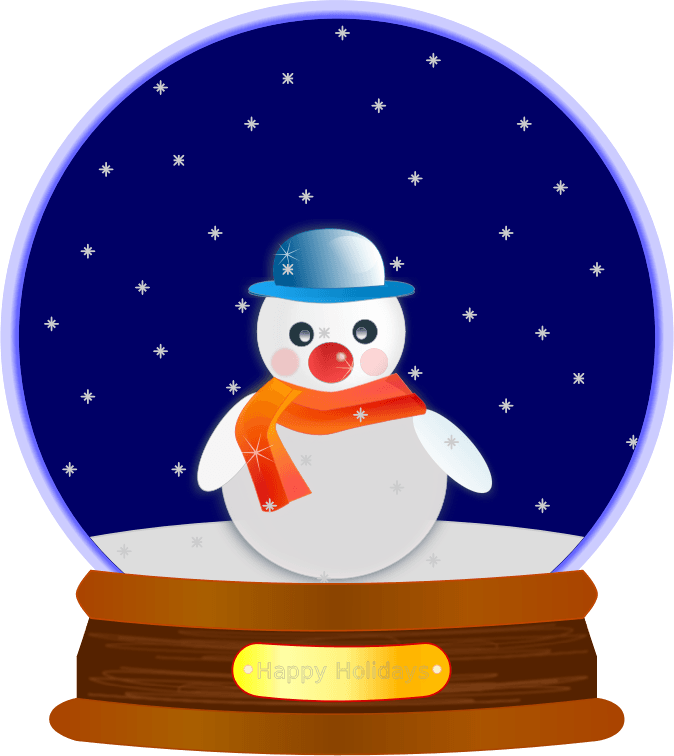 Snowman clipart snowflake graphic black and white library Animated Snowflakes Cliparts Free collection   Download and share ... graphic black and white library