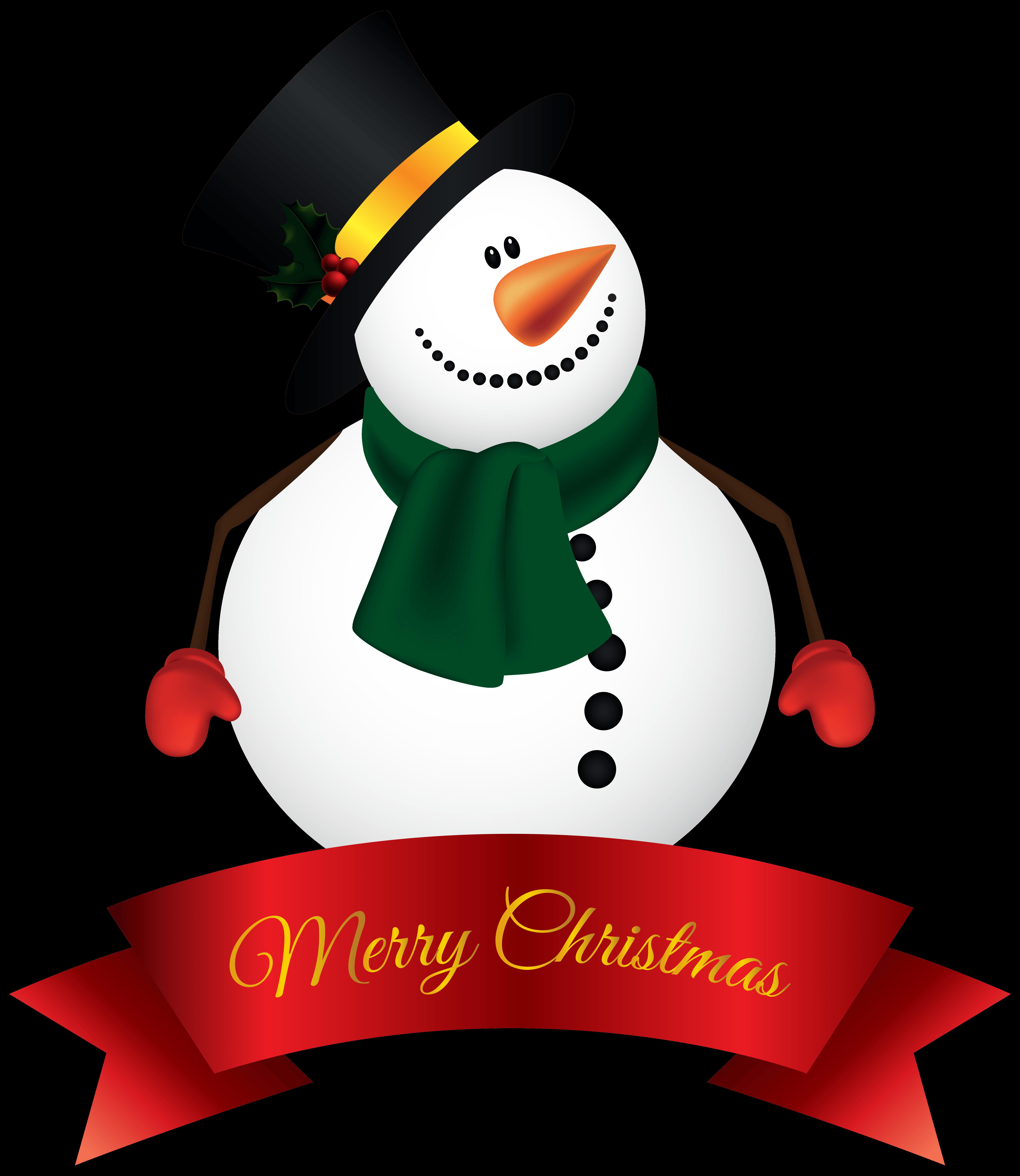 Snowman clipart snowflake freeuse Free Snowman Banner Cliparts, Download Free Clip Art, Free Clip Art ... freeuse