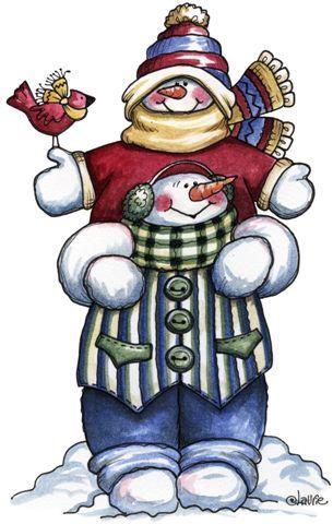 Snowman friends clipart vector stock Winter friends #clipart #holiday #holidayclipart #christmas ... vector stock