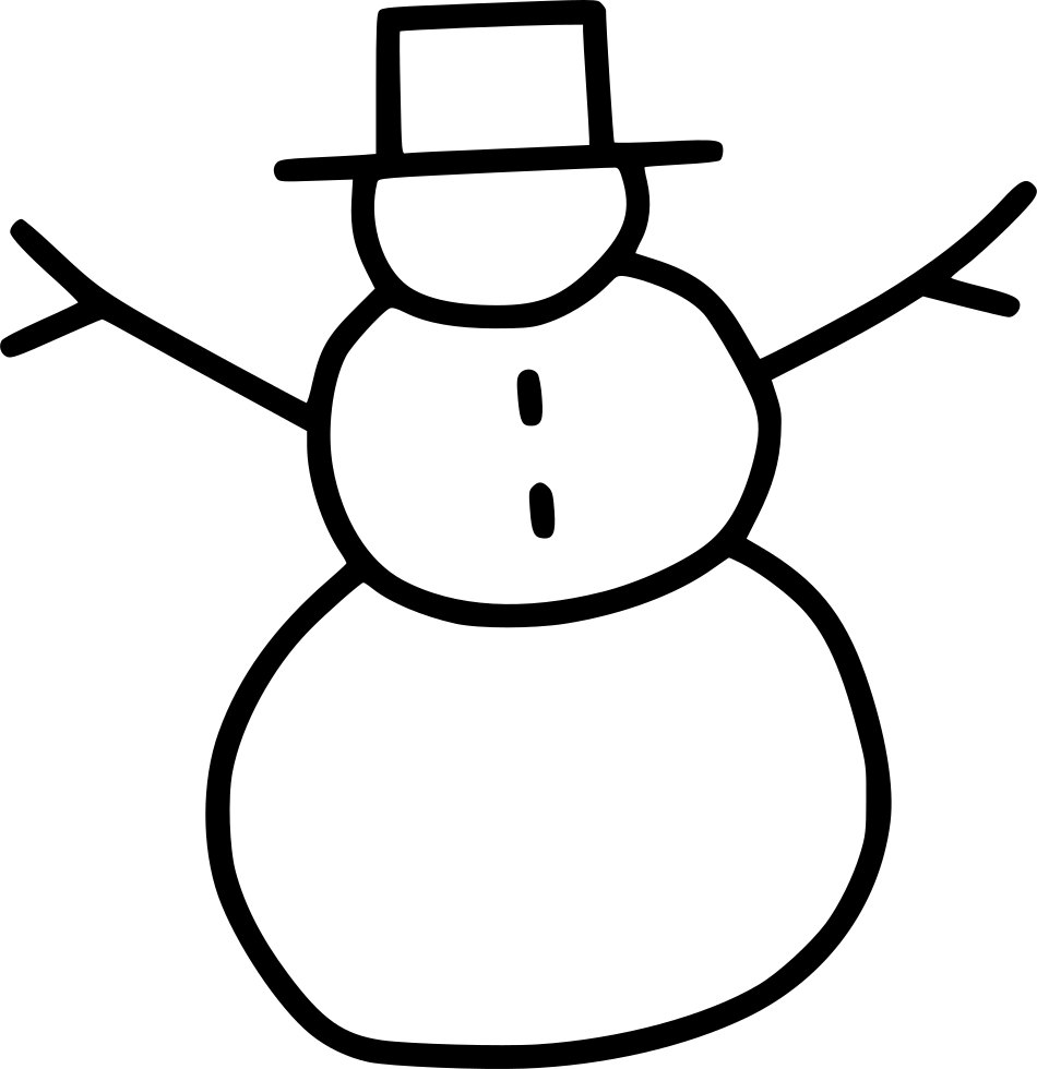 Snowman reading a book and free clipart jpg free download Snowman Snow Winter Svg Png Icon Free Download (#550141 ... jpg free download