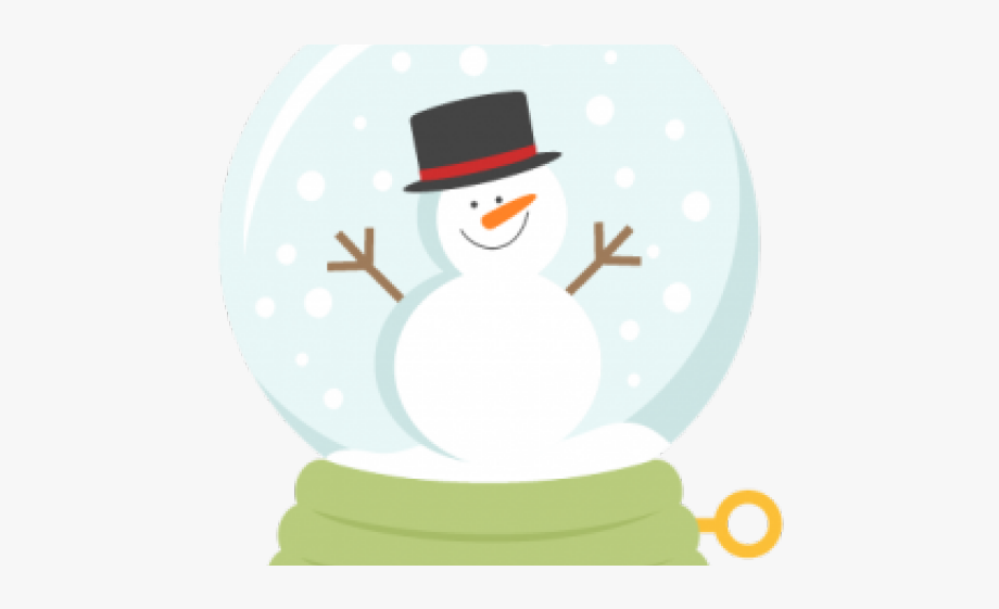 Snowman snow globe clipart picture freeuse Winter Snow Clipart Snow Globe - Snowman #680053 - Free ... picture freeuse