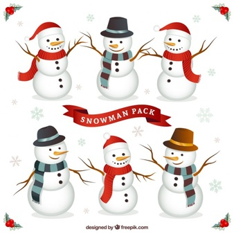 Snowman vector clipart clip art black and white stock Snowman Vectors, Photos and PSD files | Free Download clip art black and white stock