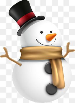 Snowman vector clipart clip art library download Hat Vector Snowman, Snowman, Cartoon Snowman, Christmas ... clip art library download