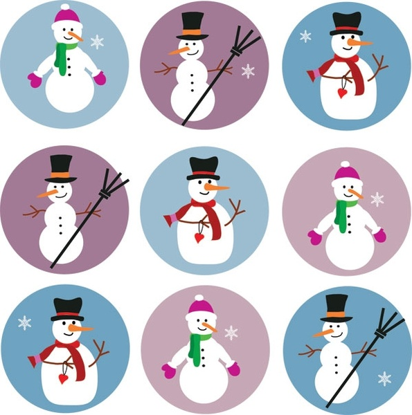 Snowman vector clipart picture royalty free stock Cute snowman vector Free vector in Encapsulated PostScript ... picture royalty free stock