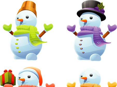 Snowman vector clipart image royalty free stock Cute snowman clipart free free vector download (9,562 Free ... image royalty free stock
