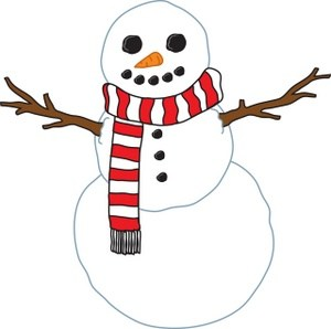 Snowman with scarf clipart vector library stock Snowman with scarf clipart 3 » Clipart Portal vector library stock