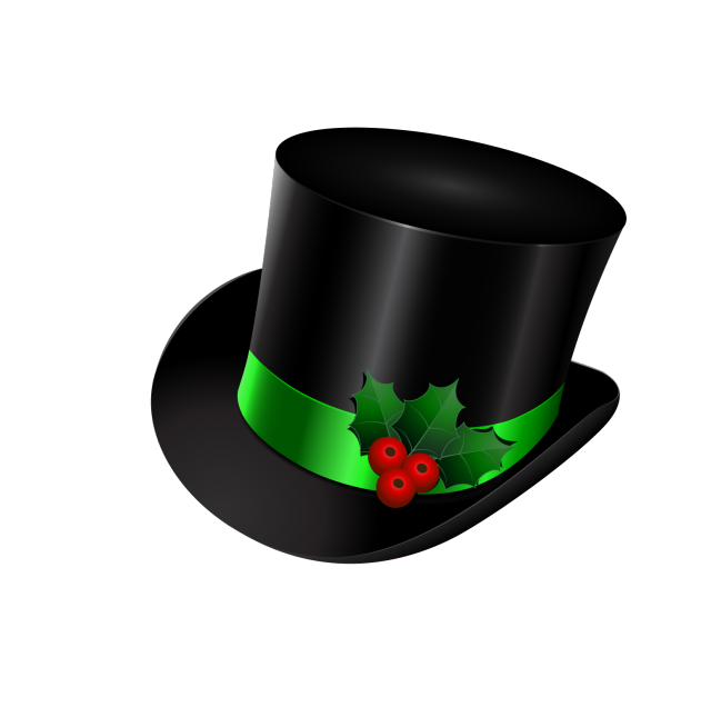 Snowman with top hat clipart clip royalty free library Great Clip Art of Snowmen and Carolers   Images & Clip Art ... clip royalty free library