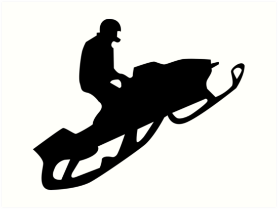 Snowmobile clipart vector black and white library Snowmobile Clipart | Free download best Snowmobile Clipart ... vector black and white library