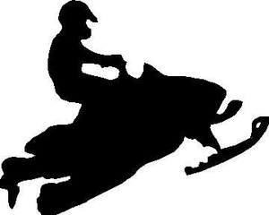 Snowmobile clipart clipart royalty free Arctic Cat Snowmobile Clipart | Free Images at Clker.com ... clipart royalty free