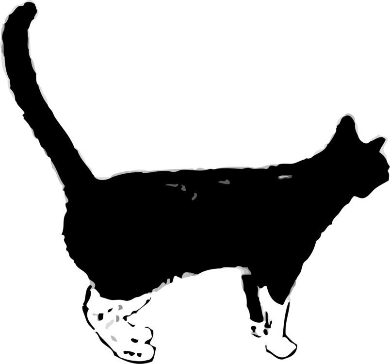Snowshoe cat clipart picture free stock Black cat Kitten Felidae Panther free commercial clipart - Desktop ... picture free stock