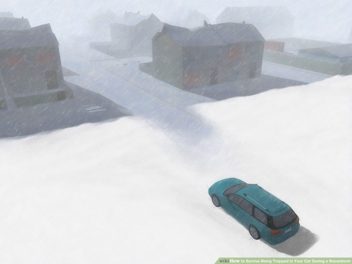 How to Survive Being Trapped in Your Car During a Snowstorm clip download